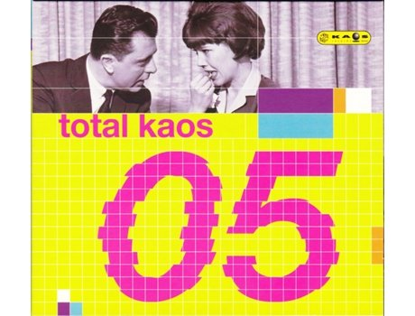 CD Total Kaos 05 — House / Electrónica