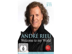 DVD André Rieu-Welcome To My World 3 — Clássica
