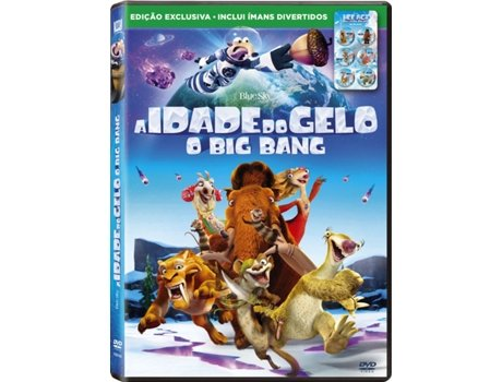 DVD A Idade do Gelo 5: O Big Bang + Ímans — De: Mike Thurmeier