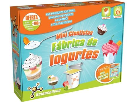Fábrica de Iogurtes SCIENCE4YOU — Science4You