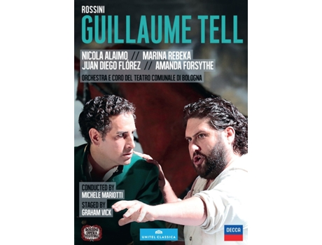 CD Juan Diego Flórez/Nicola Alaimo/Michele Mariotti - Rossini: Guillaume Tell — Clássica