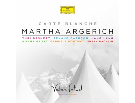 CD Martha Argerich - Carte Blanche — Pop-Rock