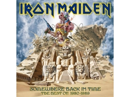 CD Iron Maiden - Somewhere Back In Time — Metal/Hard