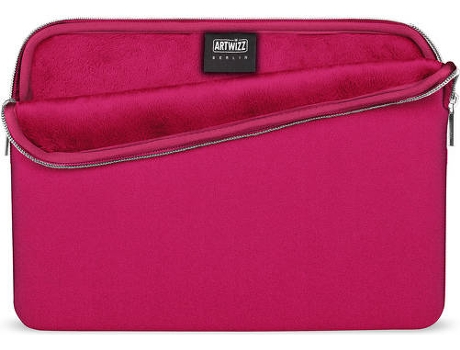 Bolsa ARTWIZZ Neoprene MacBook 12'' Rosa — 12''