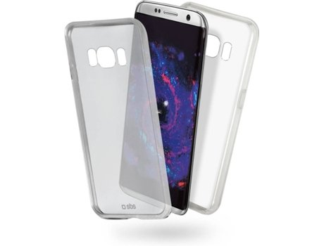 Capa SBS Clear Fit Samsung Galaxy S8 Transparente — Compatibilidade: Samsung Galaxy S8