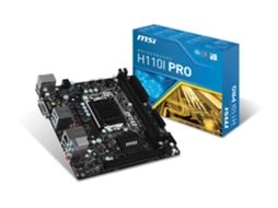 Motherboard MSI H110I Pro — Socket LGA1151 | Intel H110
