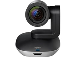 Webcam LOGITECH Group (Microfone incorporado) — Inclui: Câmara Full HD 1080p / Alta-voz / Hub / Comando