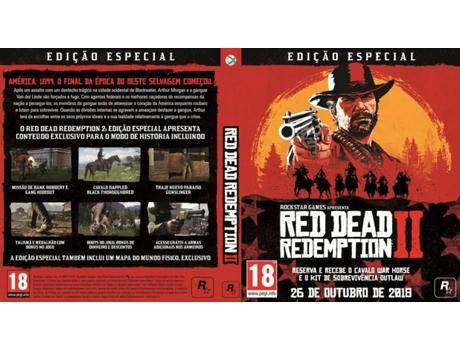 Jogo Xbox One Red Dead Redemption 2 (Edição Especial)