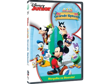 DVD Casa Mickey Mouse: Grande Splash — Infantil