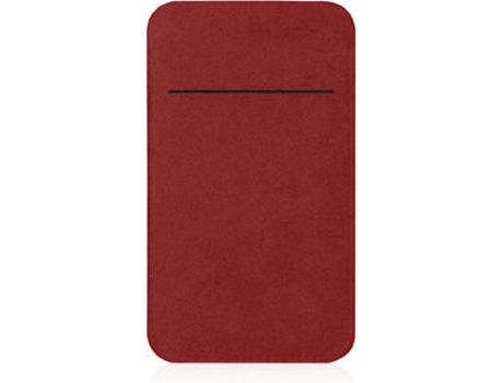 Capa MACALLY Mpouch iPhone 5, 5s, SE Vermelho — Compatibilidade: iPhone 5, 5s, SE