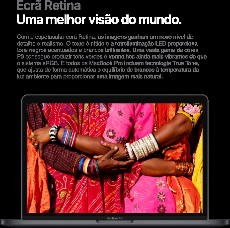 MacBook Pro 13'' Ecrã Retina