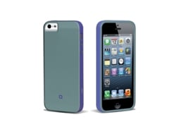 Capa SBS Sweet Flurry iPhone 5, 5s, SE Azul — Compatibilidade: iPhone 5, 5s, SE