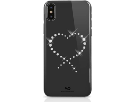 Capa WHITE DIAMONDS Crystal iPhone X Transparente — Compatibilidade: iPhone X