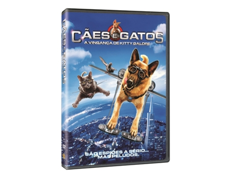 DVD Cães e Gatos: Vingança de Kitty Galore — De: Brad Peyton | Com: Alec Baldwin,Michael Clarke Duncan,Chris O'Donnell,Joe Pantoliano,Bette Midler