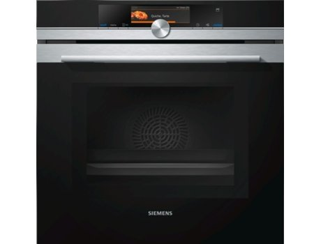 Forno SIEMENS iSensoric Home Connect HN678G4S6 — Multifunções / Pirolítico/ 67 L / A