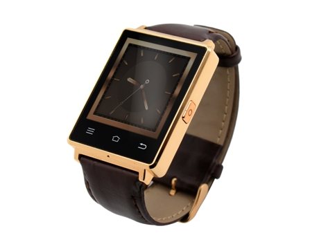 Smartwatch NO.1 D6 Castanho — Bluetooth 4.0 | 450 mAh | Android e iOS