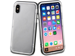 Capa MUVIT Crystal Soft iPhone X Preto — Compatibilidade: iPhone X