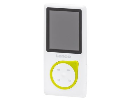 Leitor MP3 LENCO XEMIO 668 Lima — 8 GB