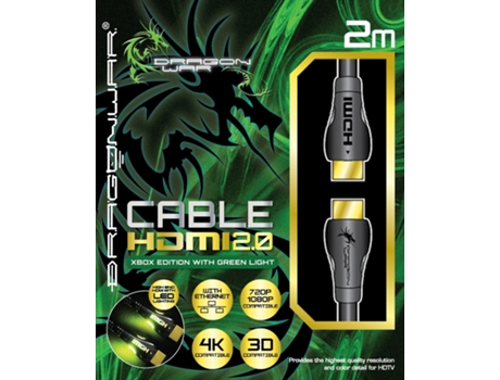 Cabo HDMI DRAGON WAR 2.0 4K Xbox Edition — PS4/Xbox