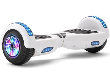 Hoverboard E Rides Tltl5 Roda 6 5 Branco Autonomia 2 H Velocidade Máx 12 Km H Worten Pt