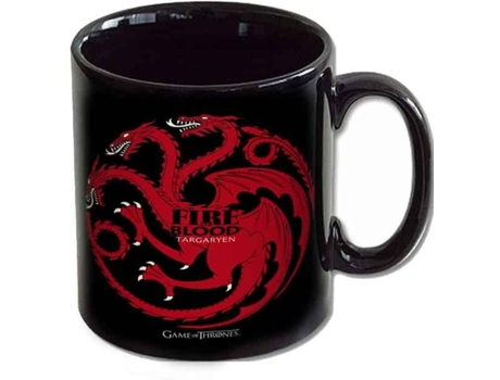 Caneca GAME OF THRONES Targaryen Fire & Blood — Game of Thrones