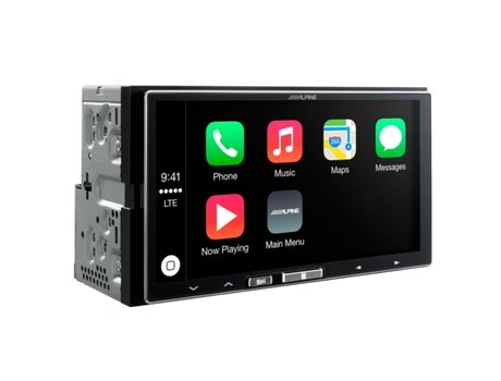 Autorrádio Multimédia ALPINE ILX-700 Preto — 50 W / MP3, WMA, AAC