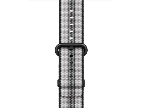 Bracelete APPLE 38mm Black Stripe Woven Nylon — Bracelete | 38mm