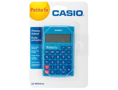 Calculadora Básica CASIO LC 401LV Azul | [4303734 ]