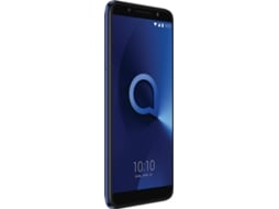 Smartphone ALCATEL 3X 32GB Azul — Android 7 | 5.7'' | Quad-Core 4 x 1.28GHz | 3GB RAM