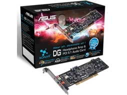 Placa de som ASUS Xonar DG PCI 5.1 — Compatibilidade: Windows 7/Vista/XP/MCE2005