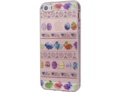 Capa KUNFT Easter Eggs iPhone 5, 5s, SE — Compatibilidade: iPhone 5, 5s, SE