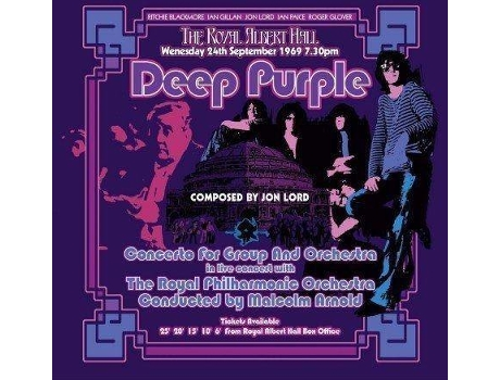 CD Deep Purple - Concert For Group & Orchestra — Pop-Rock