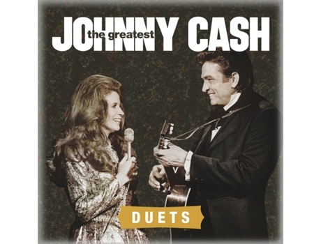 CD Johnny Cash - The Greatest: Duets — Pop-Rock