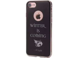 Capa KUNFT Winter Apple iPhone 6, 6s, 7, 7 Plus, 8 Plus Preto — Compatibilidade: iPhone 6, 6s, 7, 7 Plus, 8 Plus