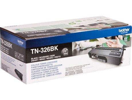 Toner BROTHER TN326 Preto (TN326BK) — Preto