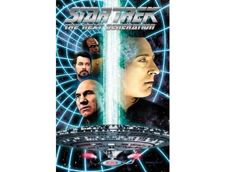Marca do fabricante - Livro Star Trek The Next Generation - The Missions Continue de Scott Tipton