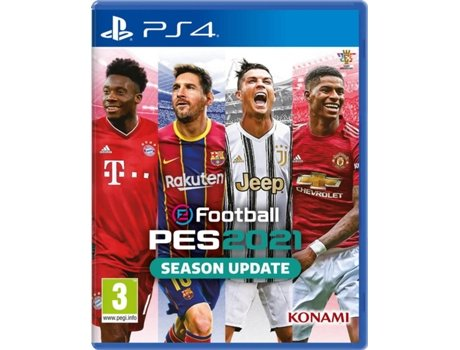 Jogo PS4 Efoottball PES 2021   [7220881 ]