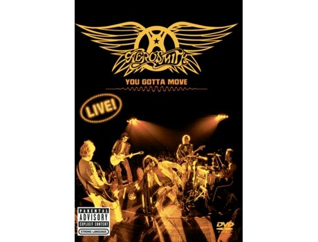 CD/DVD Aerosmith - You Gotta Move — Pop-Rock