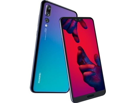 Smartphone HUAWEI P20 Pro 128GB Roxo Twilight — Android 8.1 | 6.1'' | Octa-core | 6GB RAM