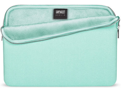 Bolsa ARTWIZZ Neoprene MacBook 12'' Verde Claro — 12''
