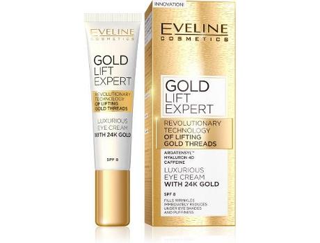 Creme de Olhos EVELINE COSMETICS Gold Lift Expert (15 ml)
