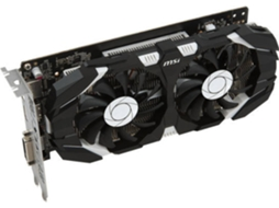 Placa Gráfica MSI GTX 1050 TI 4GT OC 4GB DDR5 — GeForce GTX 1050 | 7008 MHz | 4092 GB GDDR5