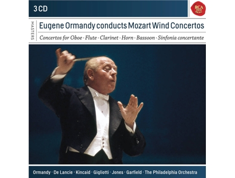 CD Eugene Ormandy - Eugene Ormandy Conducts Mozart Wind Concertos — Clássica