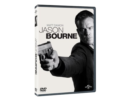 DVD Jason Bourne — De: Paul Greengrass | Com: Matt Damon,  Tommy Lee Jones,  Alicia Vikander