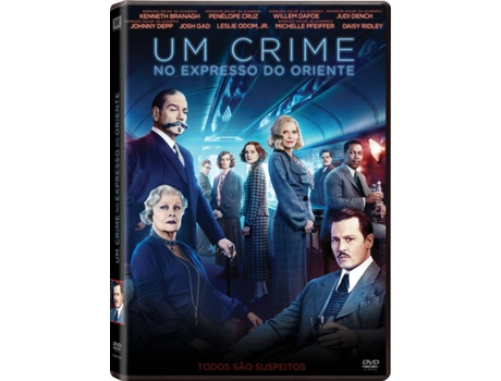 DVD Um Crime No Expresso do Oriente — De: Kenneth Branagh | Com: Kenneth Branagh, Penélope Cruz