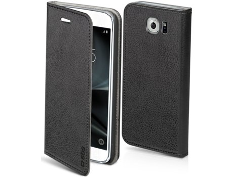 Capa Book SAMSUNG GALAXY S7 SBS Preto — Capa Book / GALAXY S7