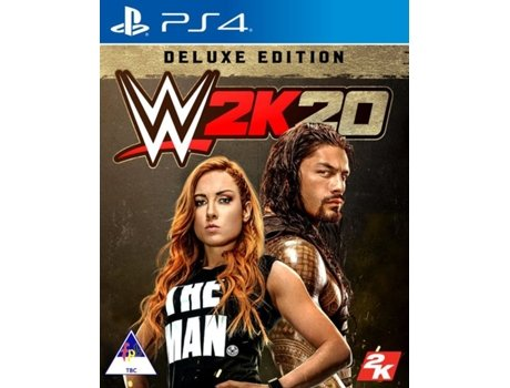 Jogo PS4 WWE 2K20 (Deluxe Edition)