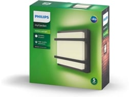 Candeeiro Exterior de Parede PHILIPS Petronia 4000K — LED integrado