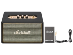Coluna MARSHALL Acton Black — Bluetooth | 2x8W+1x25W