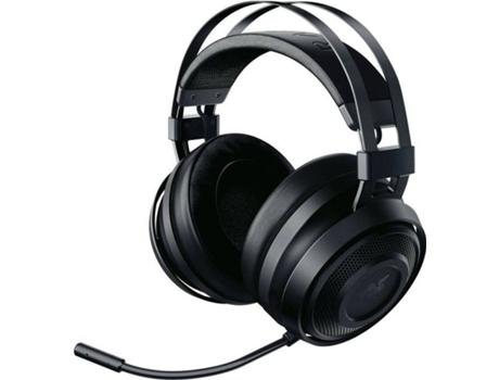 Auscultadores Gaming RAZER Nari Essential (Wireless - Com Microfone - RGB - Preto) | [6776611 ]